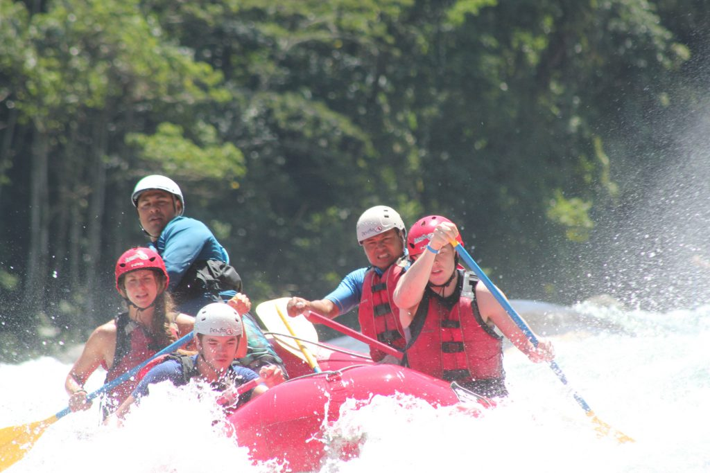 White Water Rafting La Fortuna Costa Rica