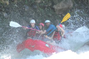 Whitewater Rafting in La Fortuna Costa Rica
